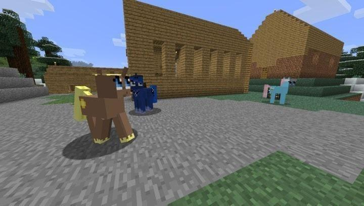 Пони из мода Animal Bikes