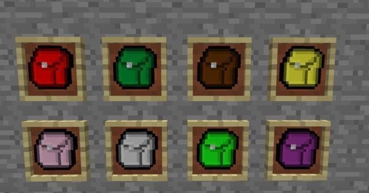 Мод на рюкзаки для 1.14.4