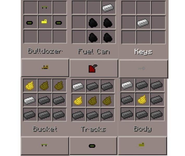 bulldozer-recipes