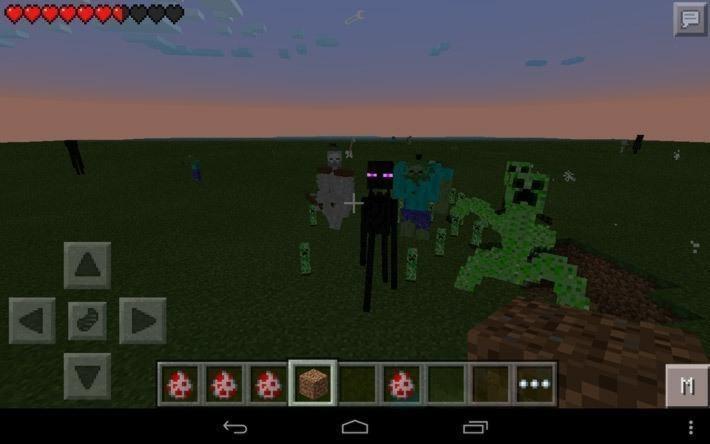 Мод Mutant Creatures для Pocket Edition