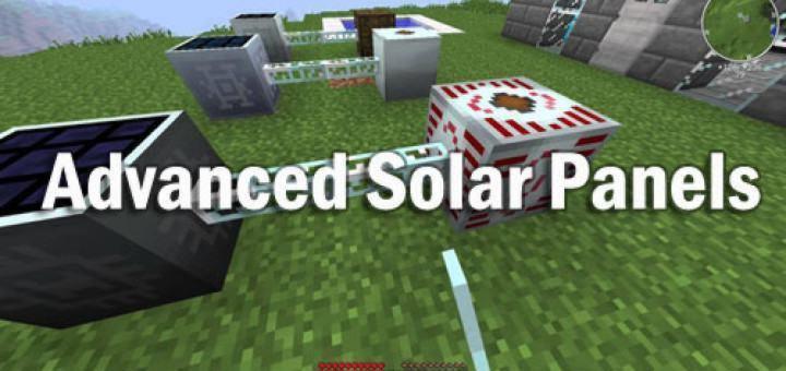 аннод advanced solar panels для майнкрафт 1.7.10 #3