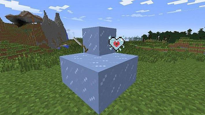 мод Холодное сердце для Minecraft