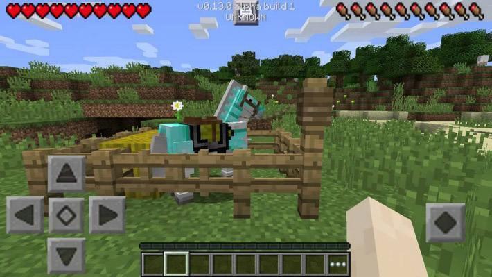 Лошади в Minecraft PE