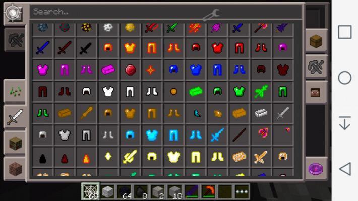 Новая броня и оружие из мода Inferno Craft