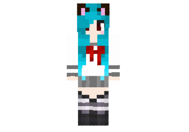 Kawaii-neko-school-girl-skin