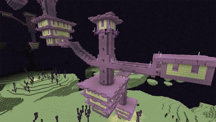 Фиолетовый замок в Крае