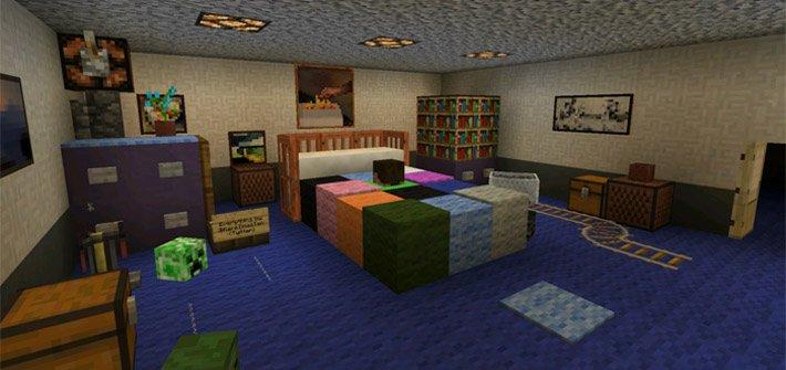 Комната из игры Five Nights at Freddys 4