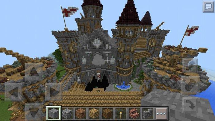 Замок построенный с помощью Строителя ПРО