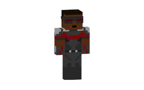 Скин, капитан, америка для minecraft