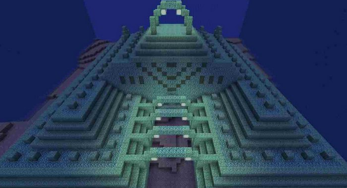 Подводная крепость в Покет Эдишене версии 0.16.0