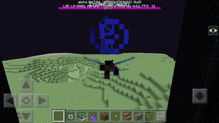 Теперь летать на крыльях можно и в Minecraft PE 1.0