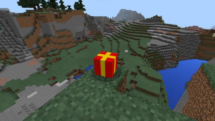 Криперы превратятся в подарки