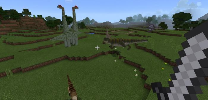 Будут и травоядные динозавры