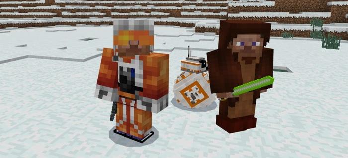 Джедай, BB-8 и повстанческий пилот