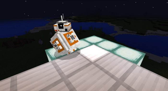Робот BB-8 из седьмого эпизода Star Wars