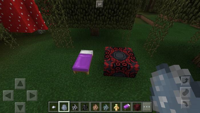 Цветная кровать