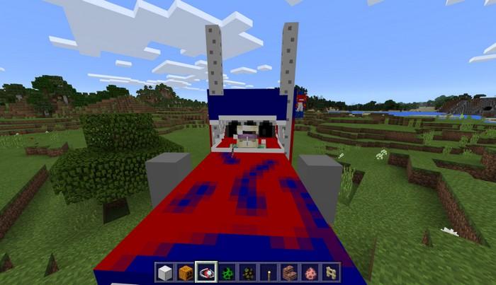 Оптимус Прайм в форме грузовика