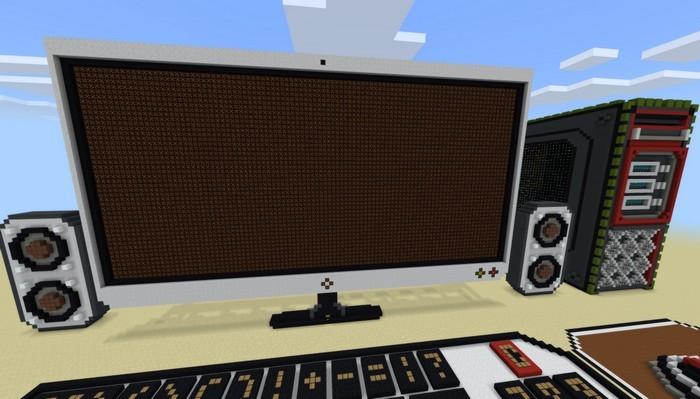 Так выглядит гигантский компьютер из редстоуна в Майнкрафте