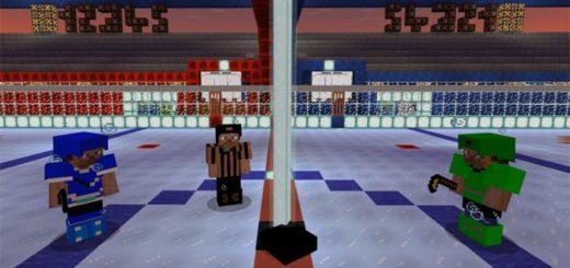 В хоккей теперь можно играть в Майнкрафте