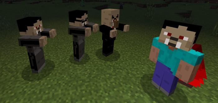 Вампиры нападают на Стива