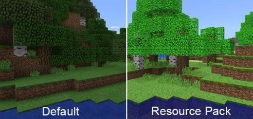 Сравнение современных и старых текстур