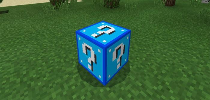Синий Лаки блок