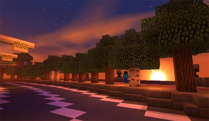 Шейдеры в Minecraft PE