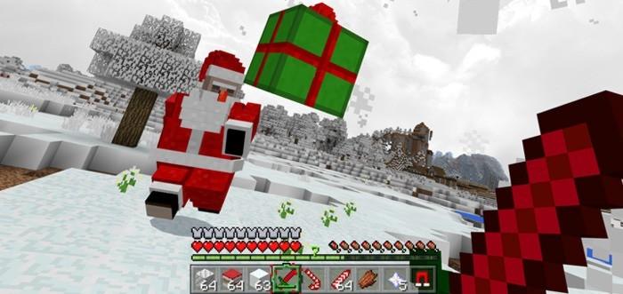 Плохой Санта кидает подарки