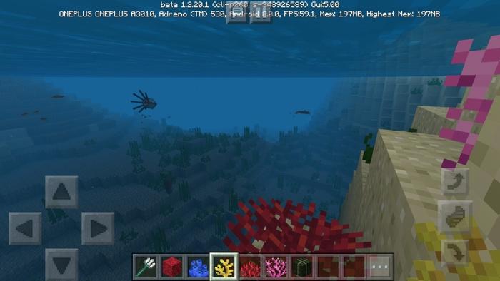Кораллы и новая графика воды