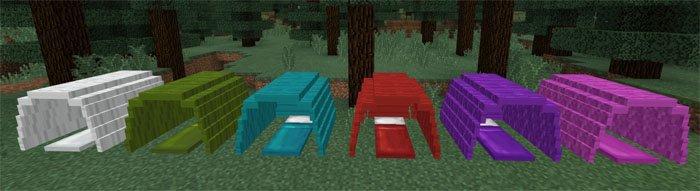 Разноцветные палатки