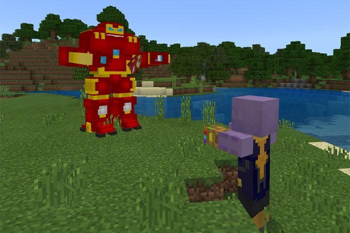 Танос против Халкбастера