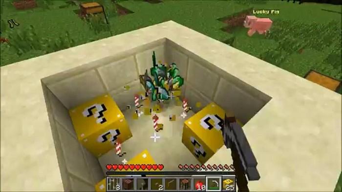 Разрушение лаки блоки
