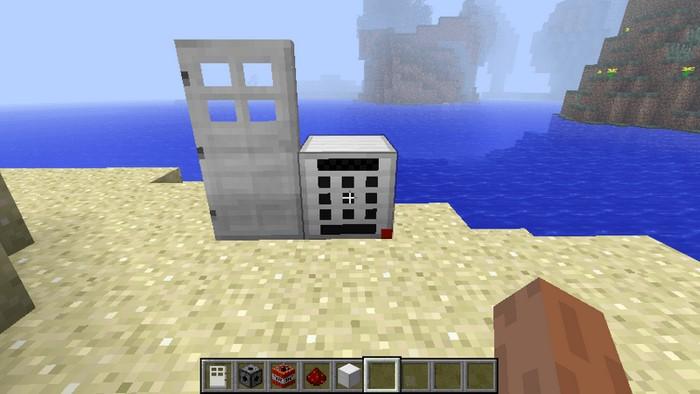 Двери с кодовым замком