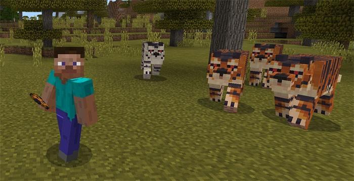 Тигры в Майнкрафте