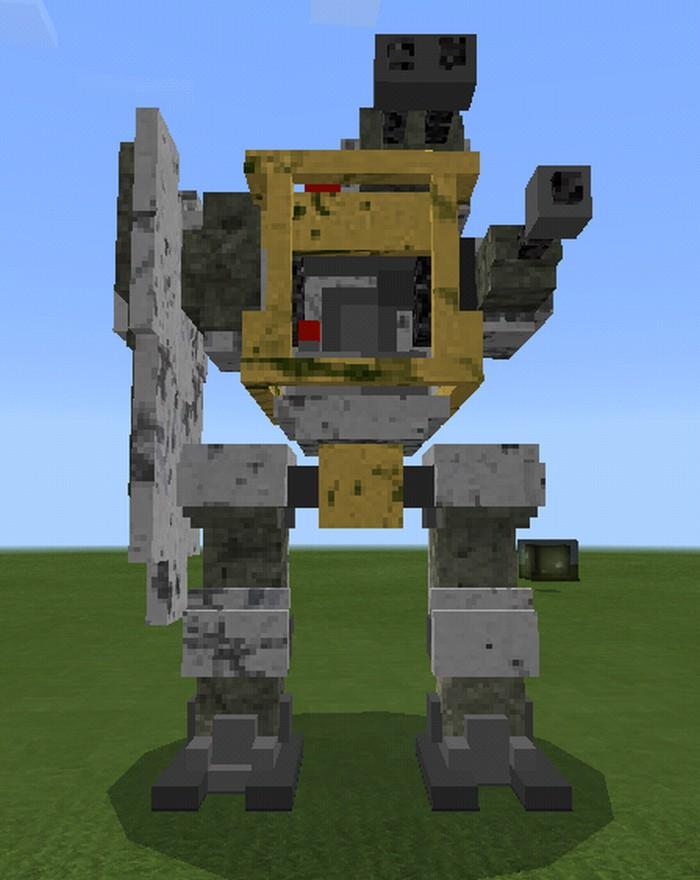 Моды на майнкрафт на 1.7.2 на огромных роботов которые будут враждебны и мод на оборотней