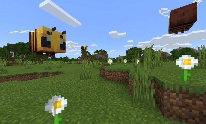 Пчелиный полет в версии 1.14.0