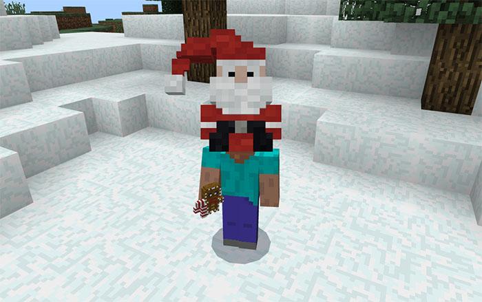 Санта на голове