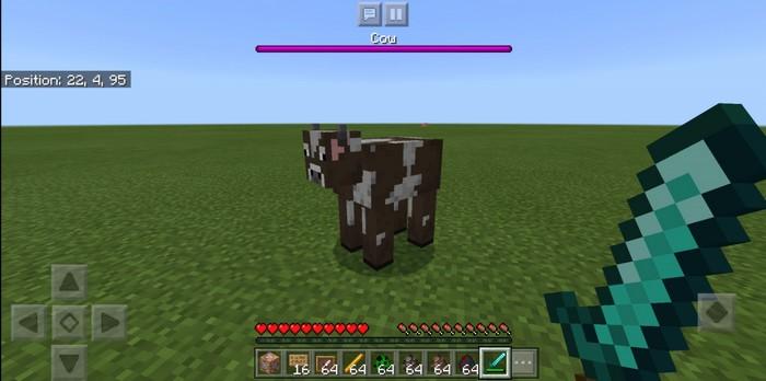 Корова с полоской здоровья