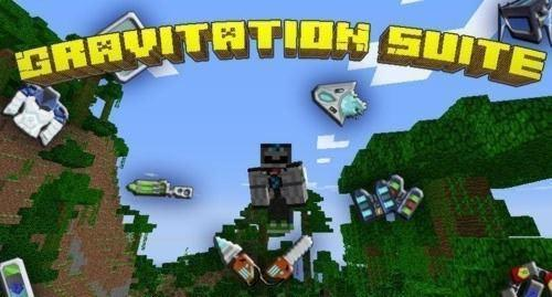 Скачать мод Gravitation Suite для Minecraft 1.6.4
