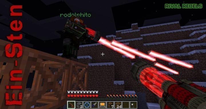 Rival Rebels для Майнкрафт 1.6.4
