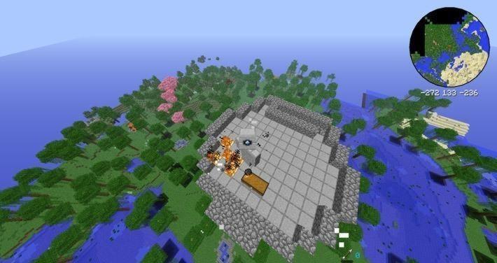Мод на башни с сокровищами для 1.6.4