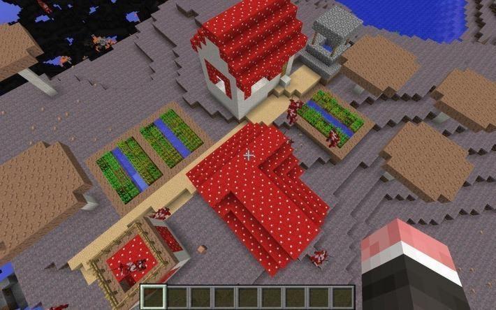 Мод Mo'Villages для Minecraft