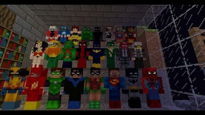 Superheroes Unlimited для 1.6.4