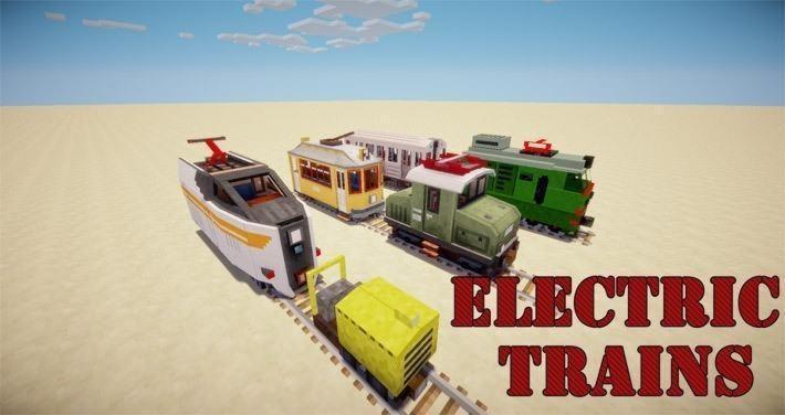 Traincraft для Майнкрафт 1.6.4