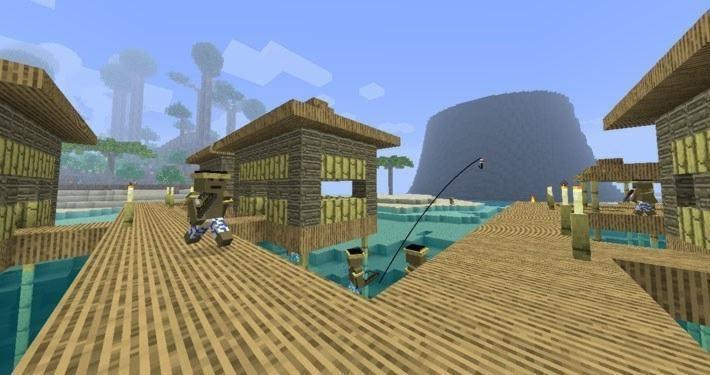 Поселок туземцев в Тропикрафт