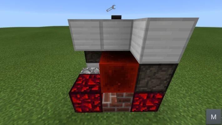 Мод на красную пыль в Pocket Edition 0.10.4