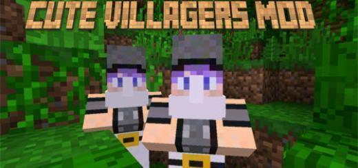 cute-villagers-mod-pe