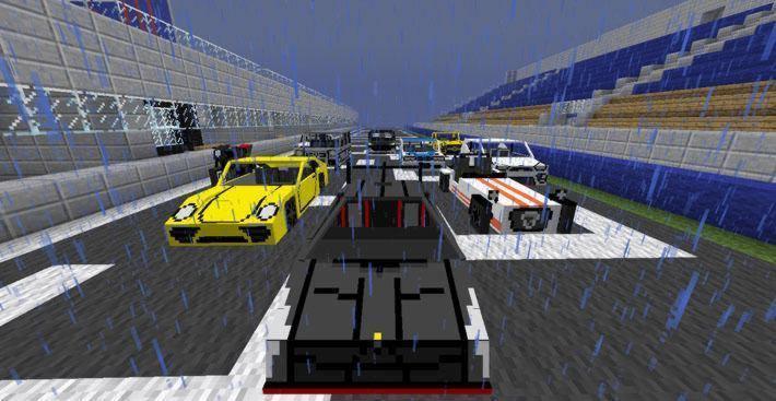 Мод на спортивные машины в Майнкрафт