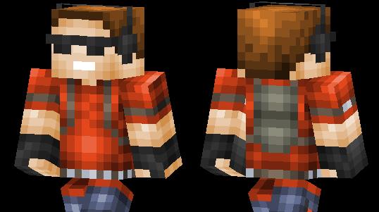 скачать скин грифера для Minecraft - фото 2
