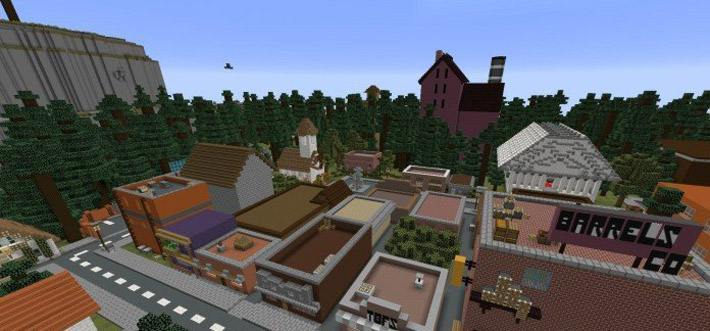 gravity-falls-minecraft-pe-screenshoot
